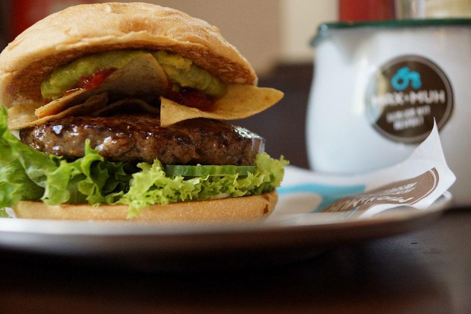 Burger von Max + Muh