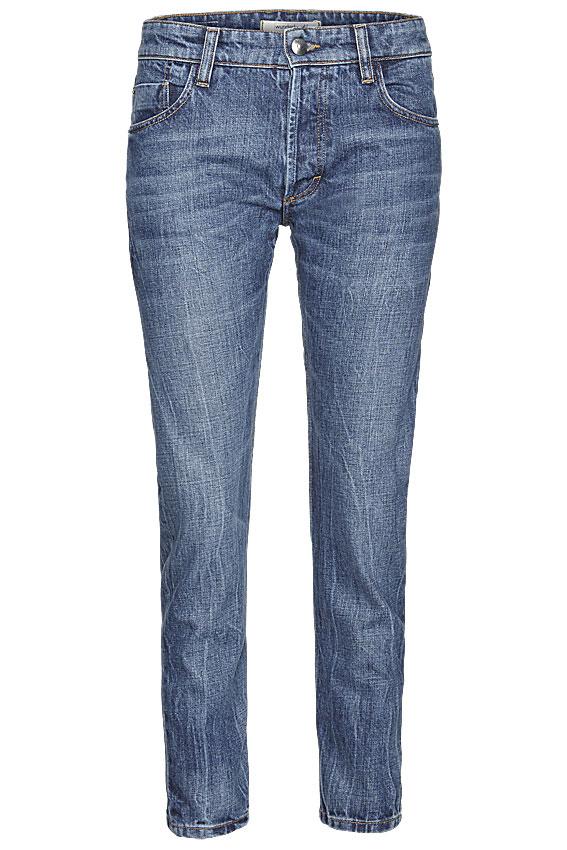 """Eine Jeanshose """"Rigid Kate"""" aus 100 % Biobaumwolle, umweltfreundlich hergestelleter, italienischer Denim im Wert von 129,95 Euro. Stichwort: Jeans"""