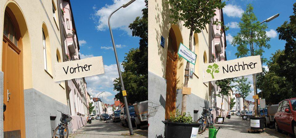 green Street vorher nachher
