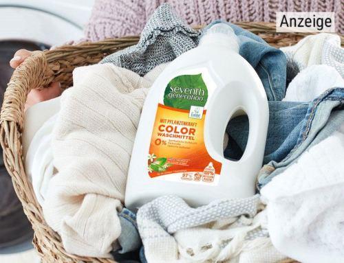Sauberes Zuhause. Saubere Zukunft. Waschen und Reinigen mit Pflanzenkraft