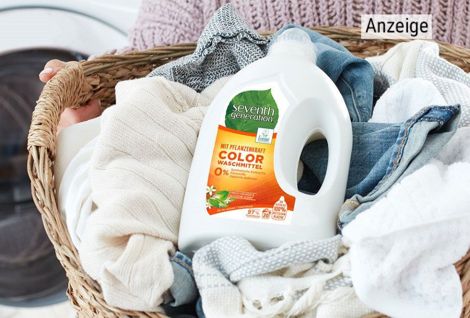 Umweltschonendes Waschmittel von Seventh Generation.