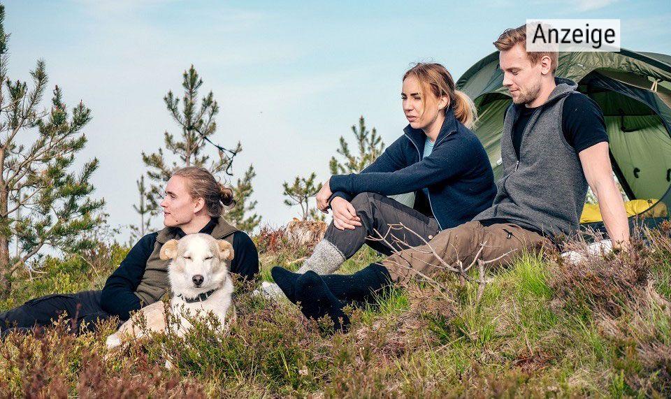 Die schwedische Marke Woolpower setzt auf natürliche Fasern und nachhaltige Produktion. Foto © Woolpower