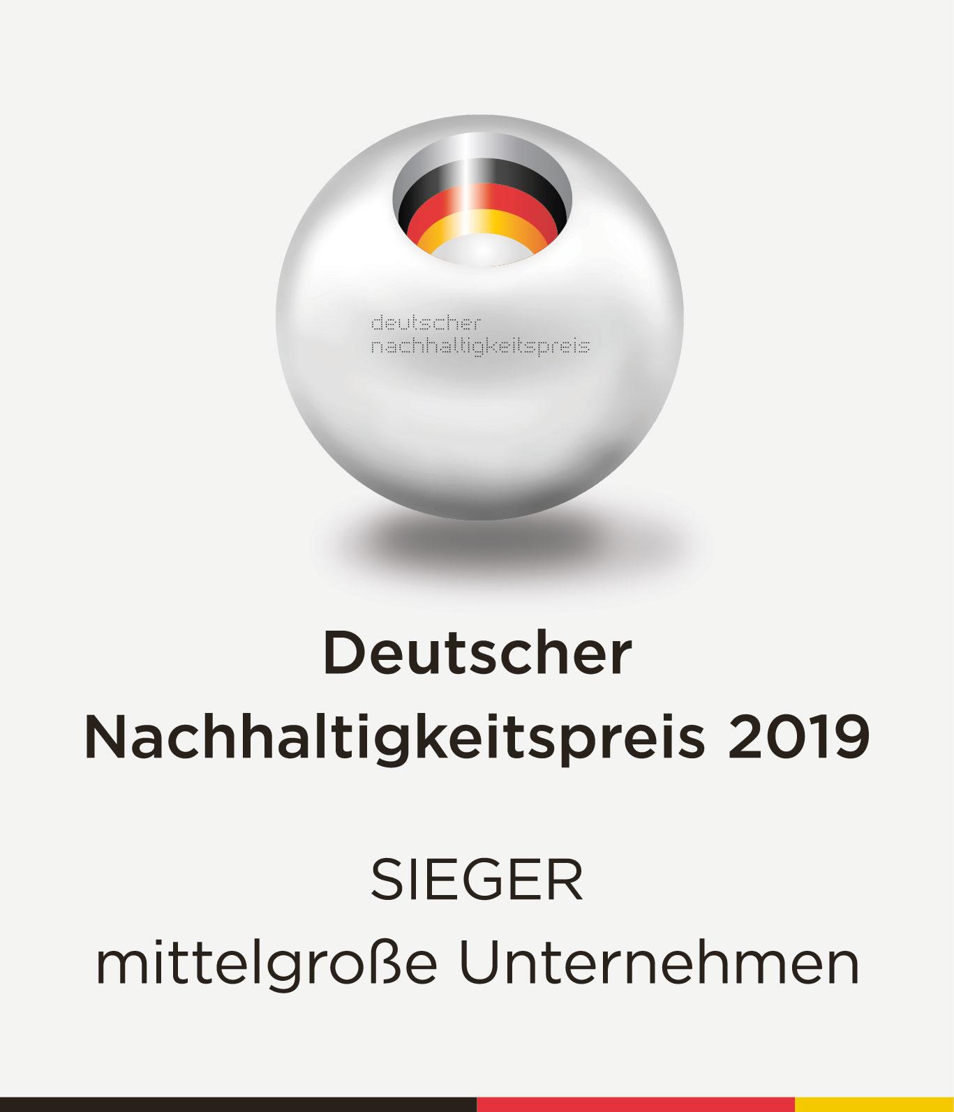 Die Molkerei Berchtesgadener Land wurde 2019 Sieger unter den mittelgroßen Unternehmen des Deutschen Nachhaltigkeitspreises.