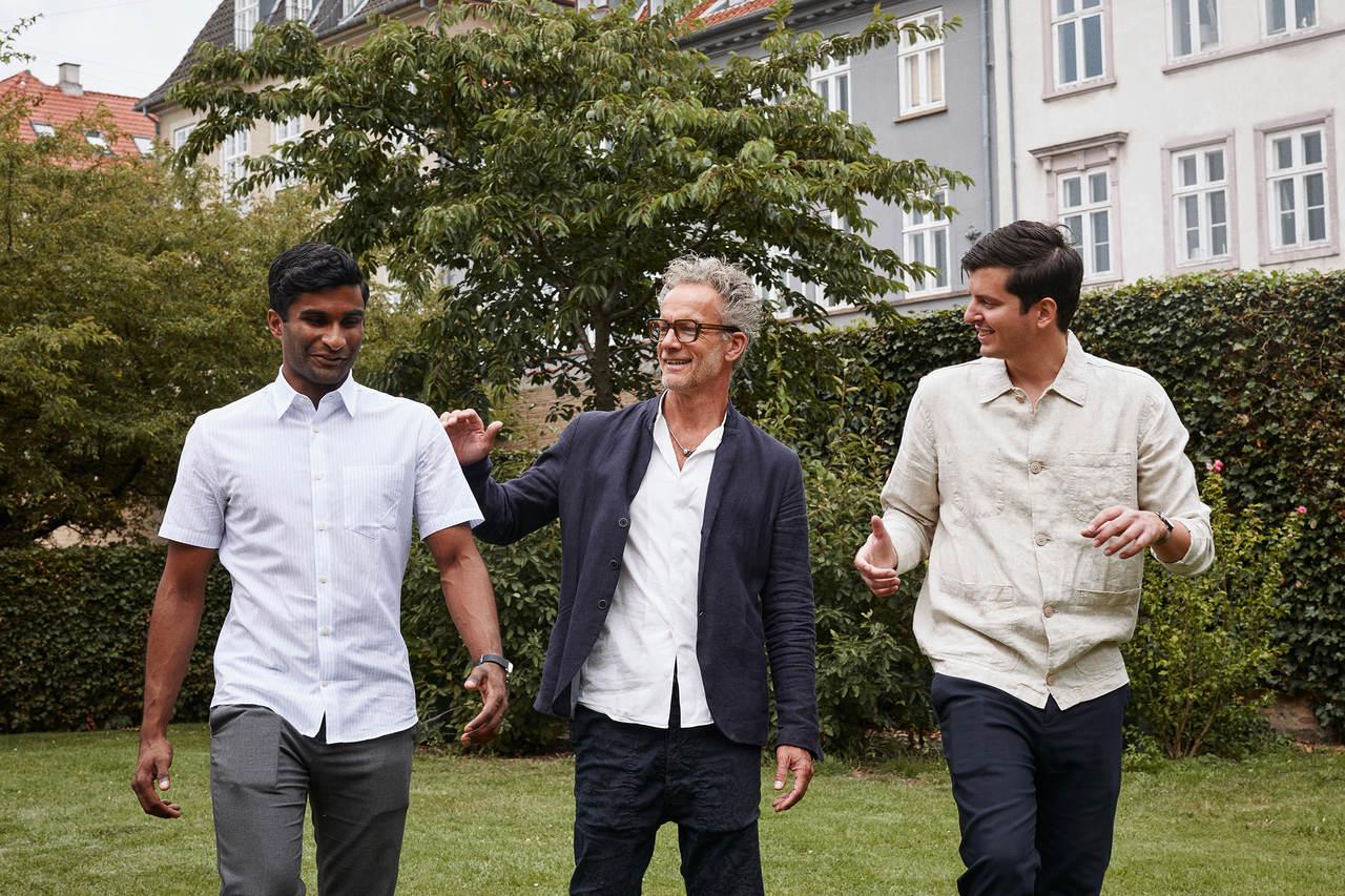 Nordgreen Gründer Pascal und Vasilij mit Chefdesigner Jakob.