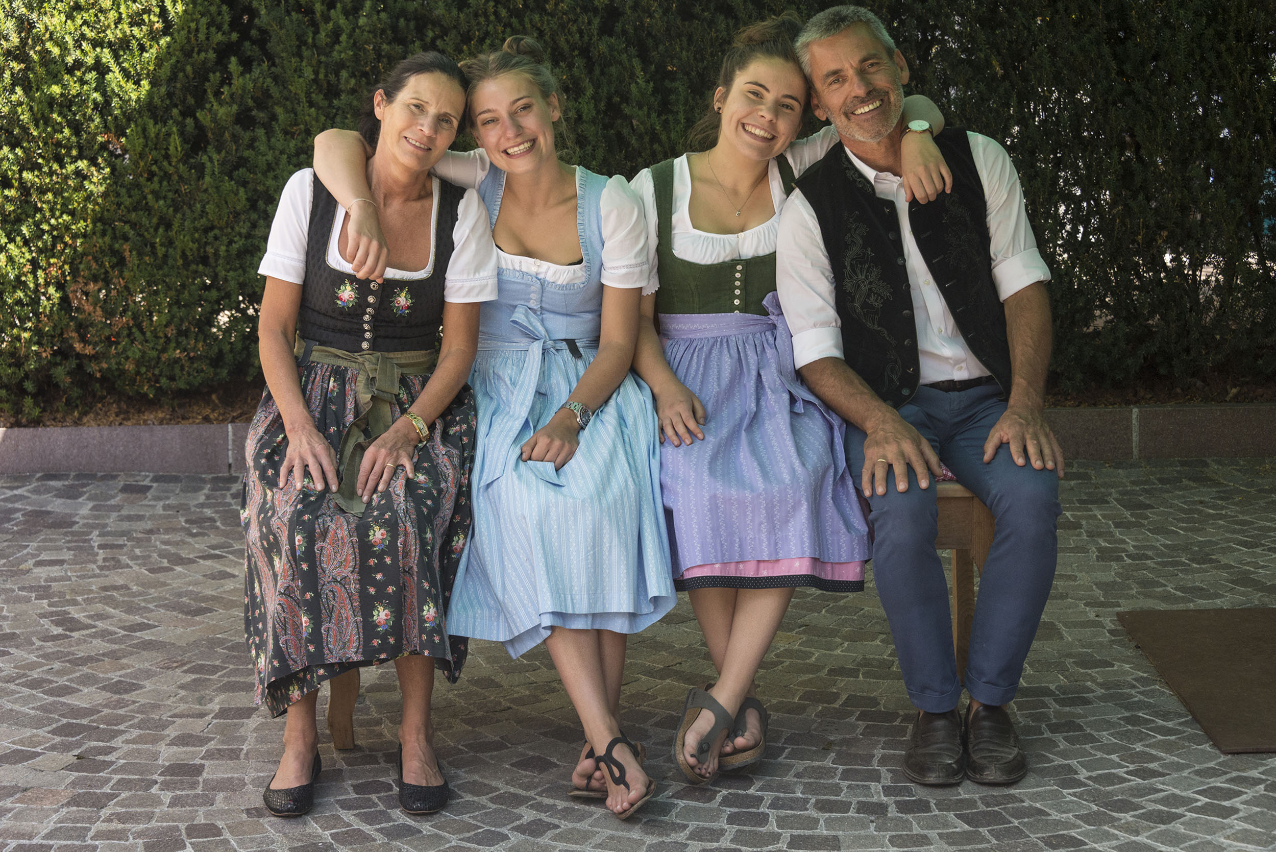 Familie Fauster; Foto © Joachim Negwer