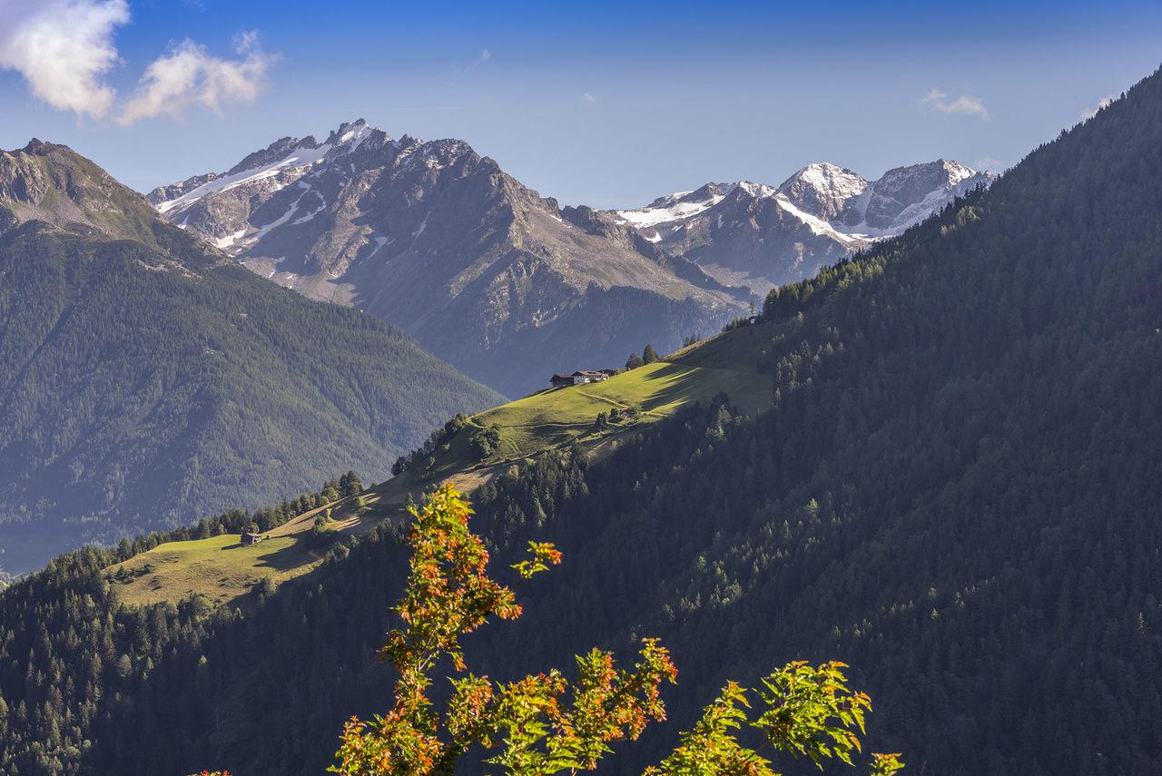 Herbst im Ahrntal; Foto © Joachim Negwer