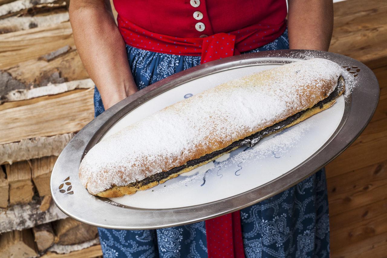 Glutenfreier Mohnstrudel, Foto © Tiberio Sorvillo