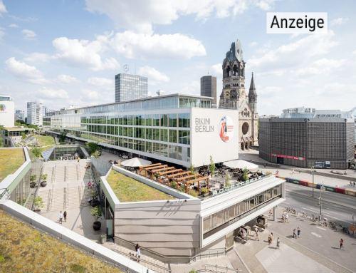 BIKINI BERLIN: Nachhaltig Shoppen in der grünen Oase