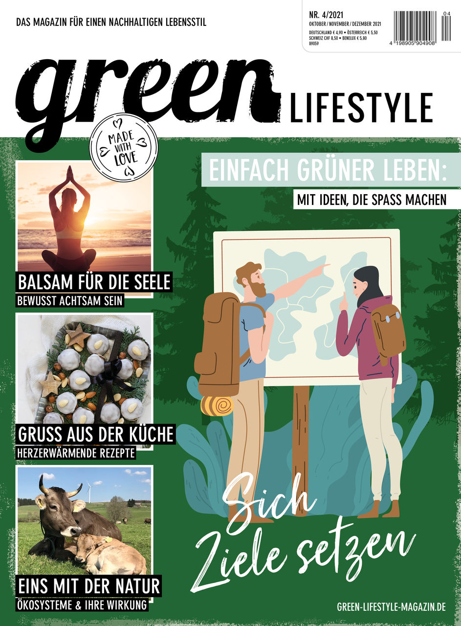aktuelle green Lifestyle Printausgabe