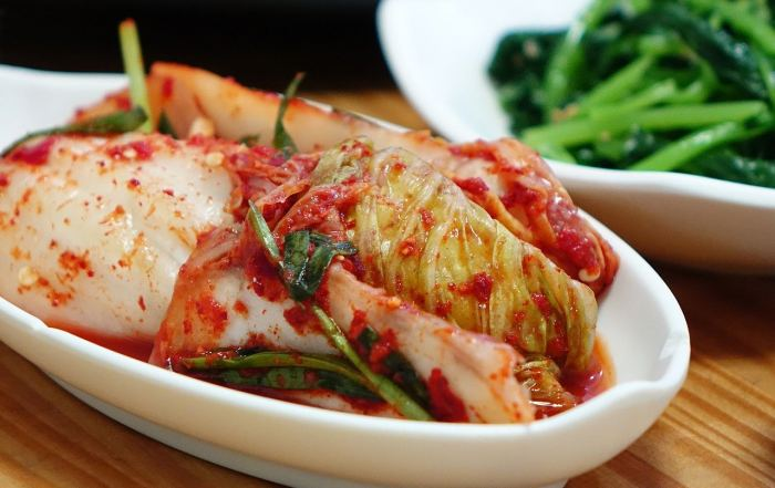 Kimchi lecker zubereitet