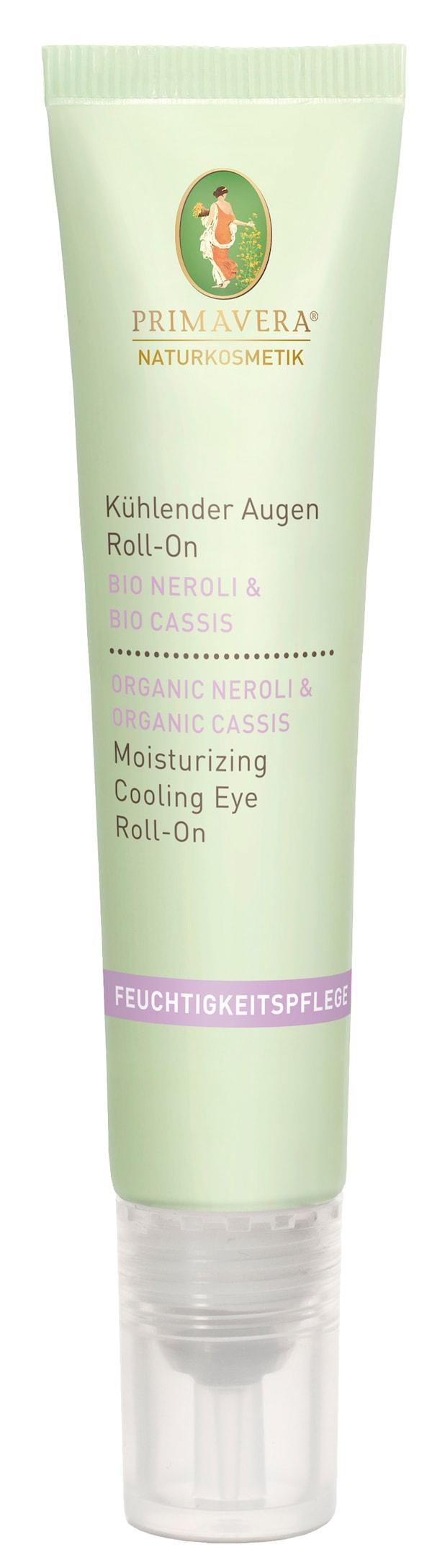 Feuchtigkeitspflege Neroli Cassis_Augen Roll-On von Primavera