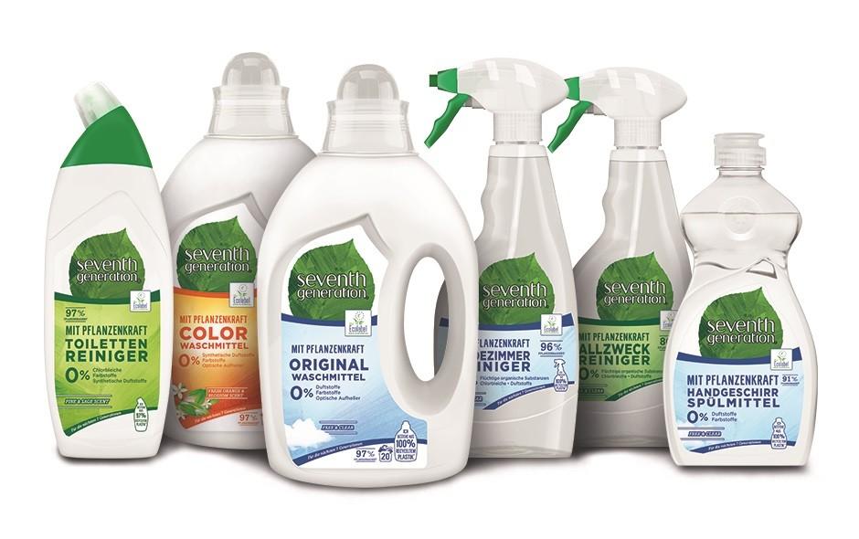 Die ökologischen Reinigungsmittel von Seventh Generation umfassen vom Bio-Waschmittel bis zum nachhaltigen Allzweckreiniger alles was, man für den Haushalt benötigt.