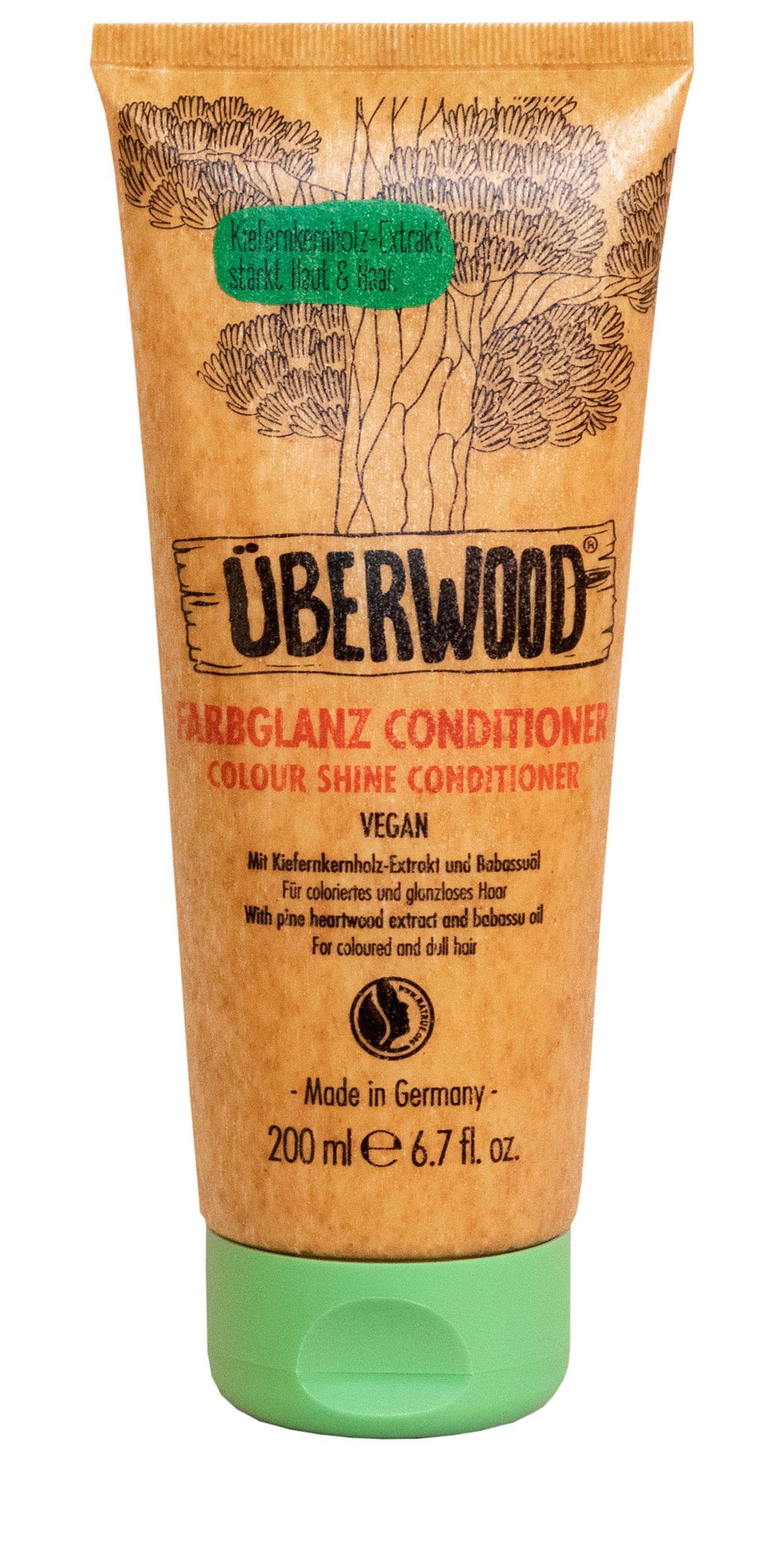 Der Farbglanz-Conditioner von ÜBERWOOD®