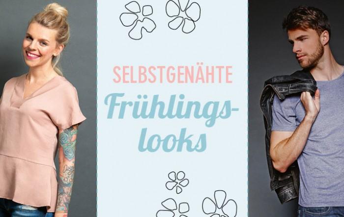 Mit den selbstgenähten Looks für Sie und Ihn kann der Frühling kommen. © frechverlag; EMF Verlag