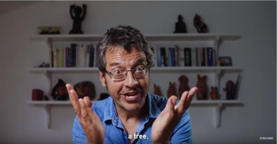 Der Journalist George Monbiot erklärt in dieser Momentaufnahme aus dem Kurzfilm mit Greta Thunberg, welche Bedeutung Bäume im Kampf gegen die Klimakrise haben.