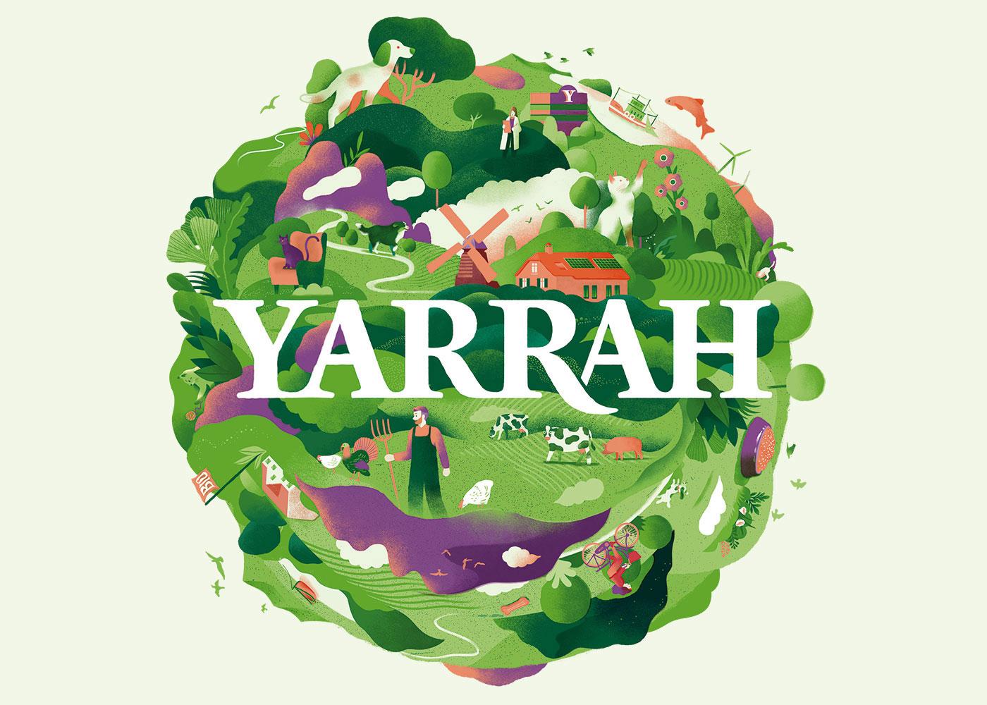 Yarrah produziert nachhaltiges Tierfutter.