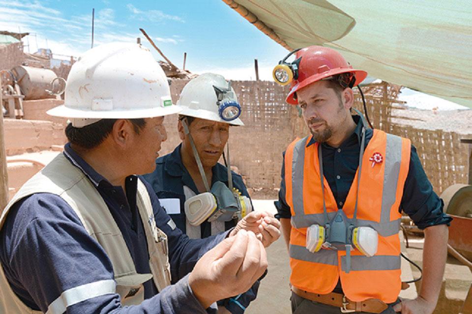 Jan Spille und sein Team besuchen Bergbau-Kooperationen in Südamerika