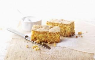 Immer lecker: Der Karottenkuchen mit Bio-Zucker. ©SweetFamily
