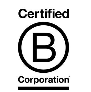 Das B Corporation Siegel gewährleistet hohe Sozial- und Umweltverträgliche Standards.