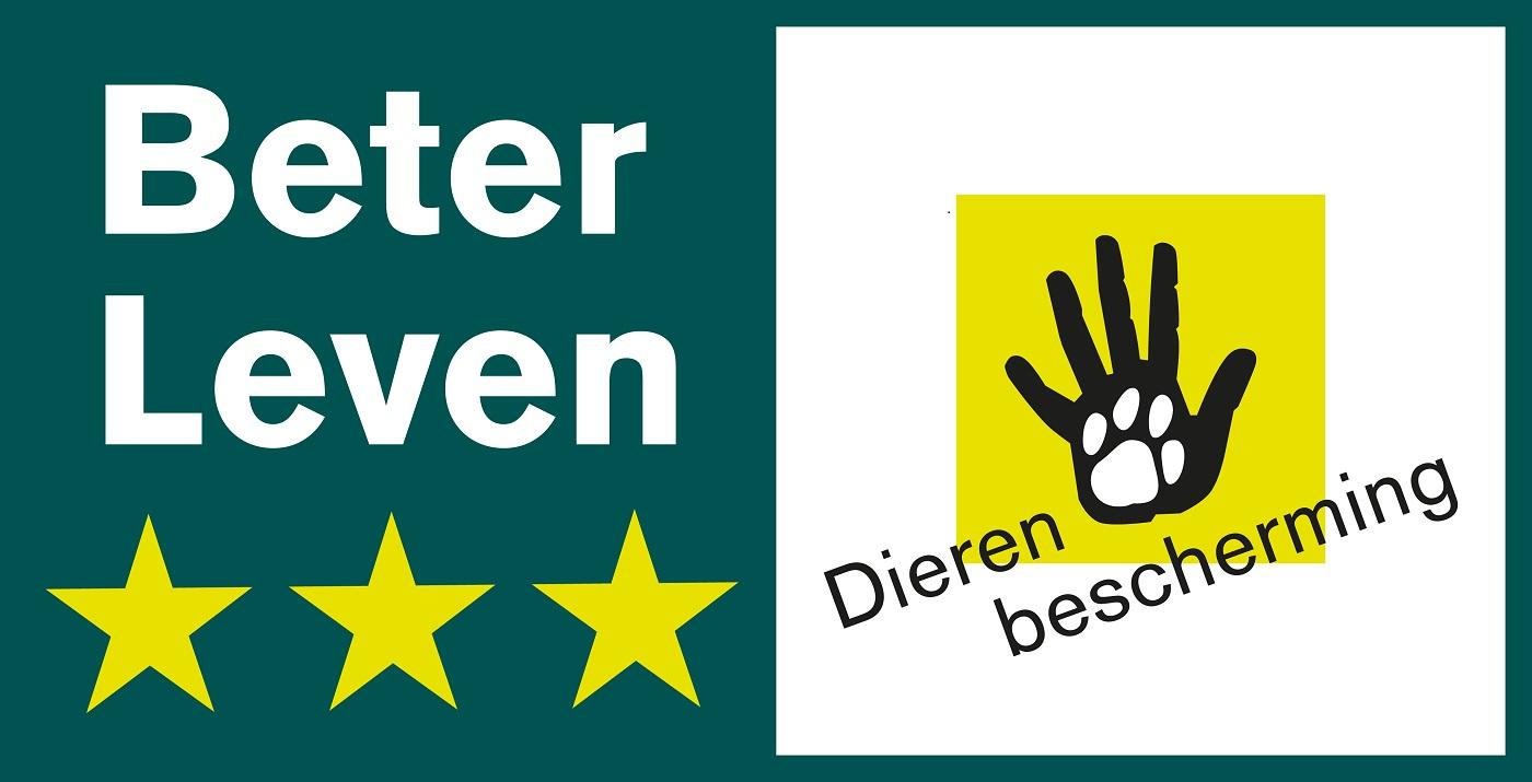 Das niederländische Siegel Beter Leven steht für respektvollen Umgang mit Tier und Natur.