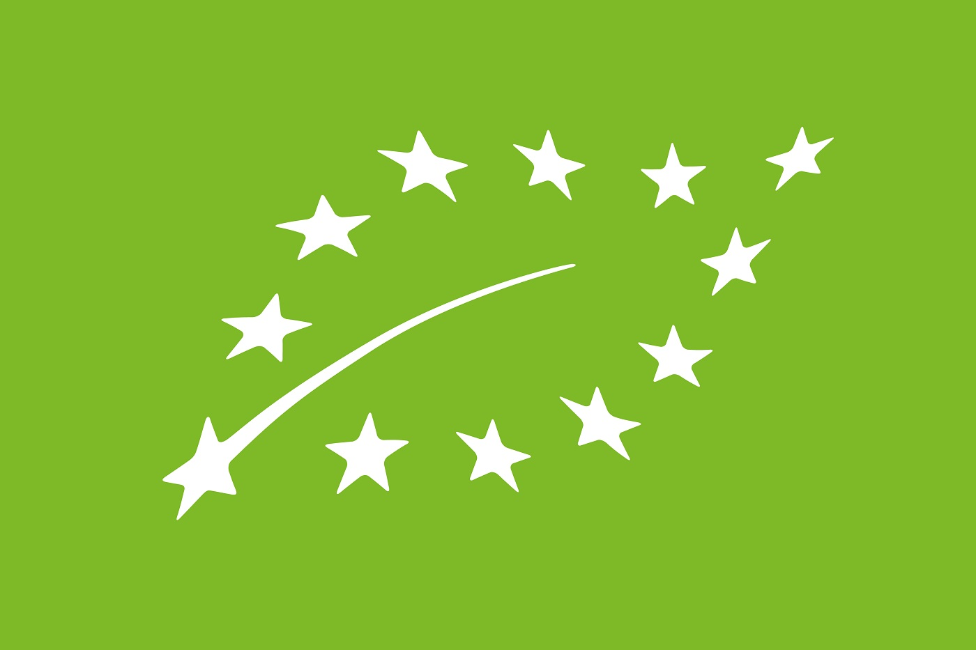 Das nachhaltige Tierfutter von Yarrah ist mit dem EU Bio-Logo zertifiziert.