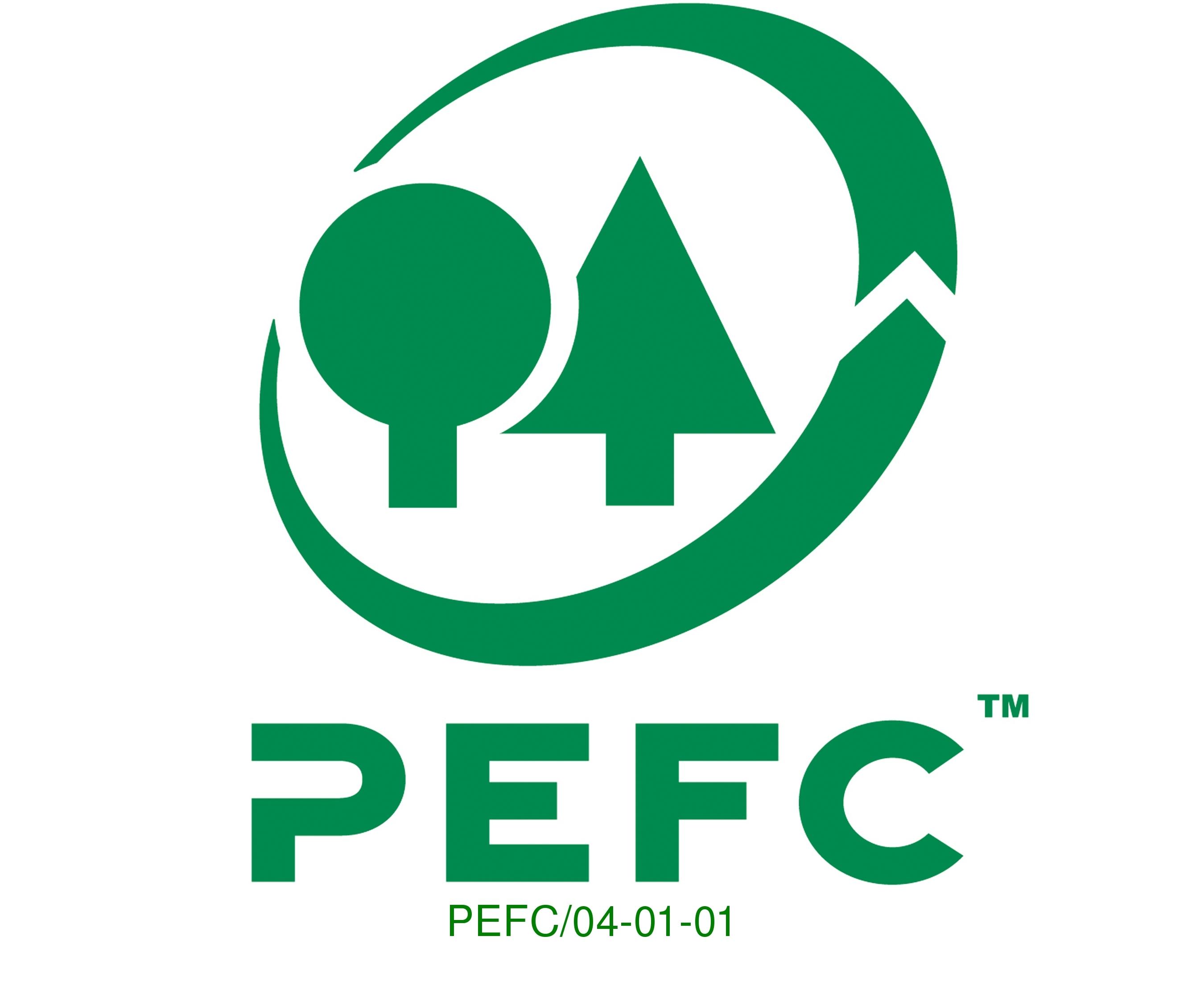 Das PEFC Logo steht für nachhaltige Forstwirtschaft und garantiert bei Grillkohle, dass sie kein Tropenholz aus Übersee verwendet wurde. © PEFC
