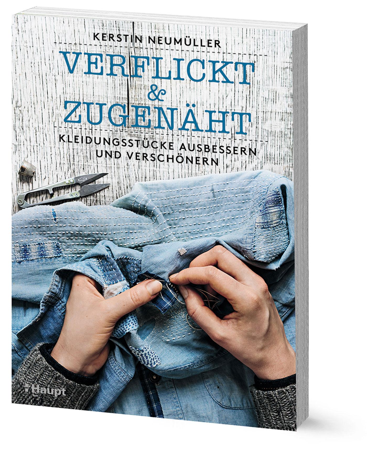 Buch-Cover Verlickt und Zugenäht, Kerstin Neumüller, Haupt Verlag
