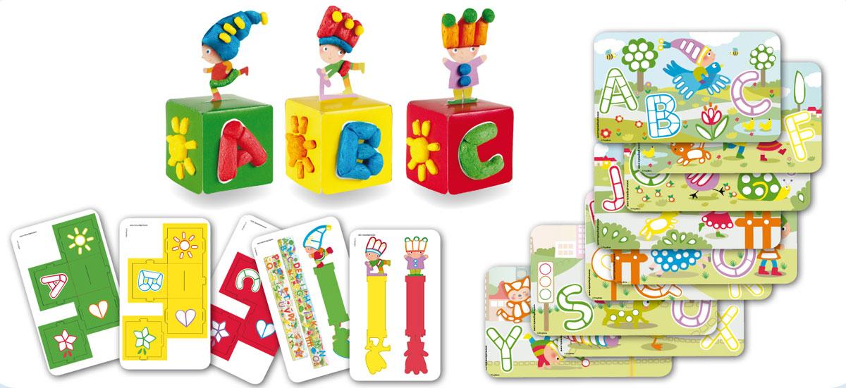 Das Set FUN TO LEARN von PlayMais beschäftigt Kinder sinnvoll Zuhause