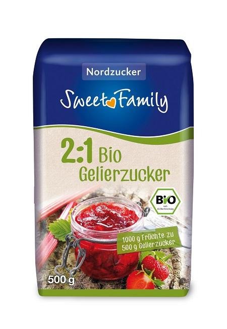 Produktbild SweetFamily Bio-Gelierzucker 2:1