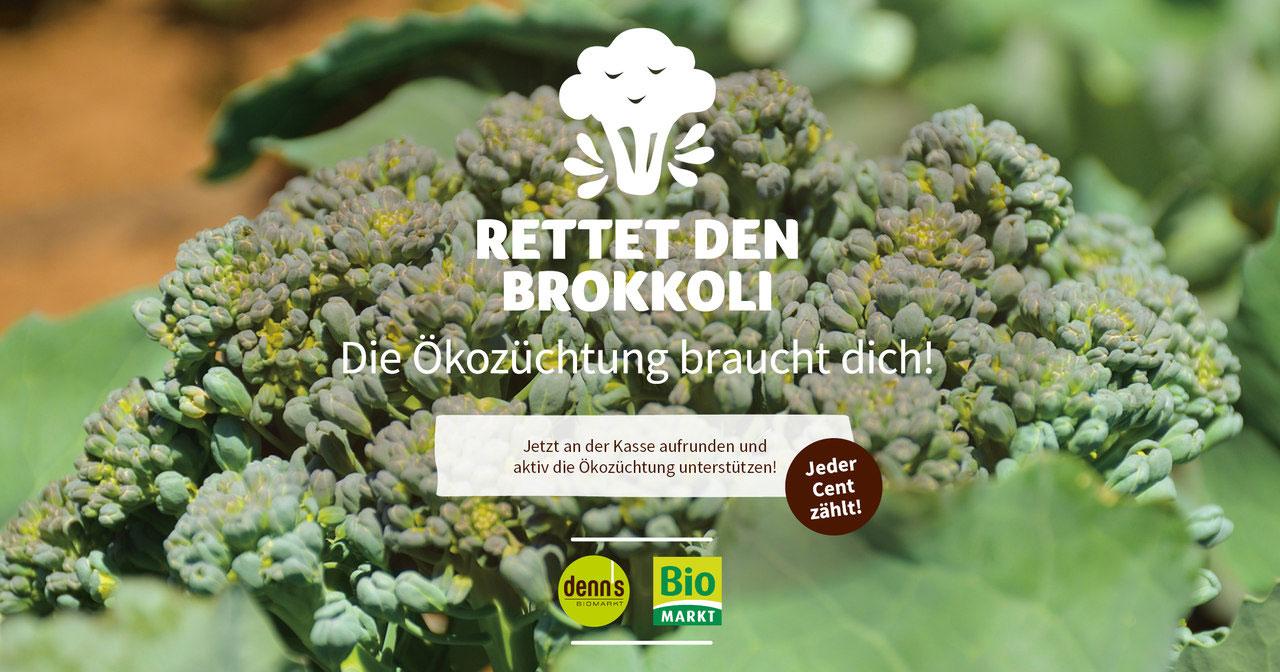 Kampagnenbild zur Aktion Rettet den Brokkoli für mehr Sortenvielfalt