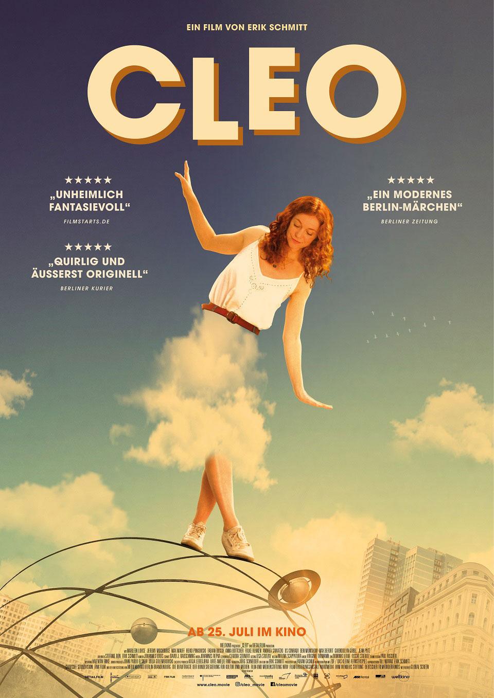 Filmplakat Cleo von Erik Schmitt