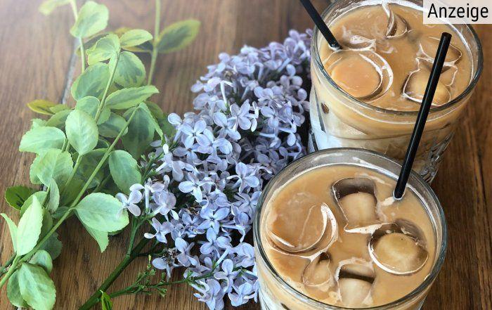 Eiskaffee aus alternativem Kaffee von Naturata