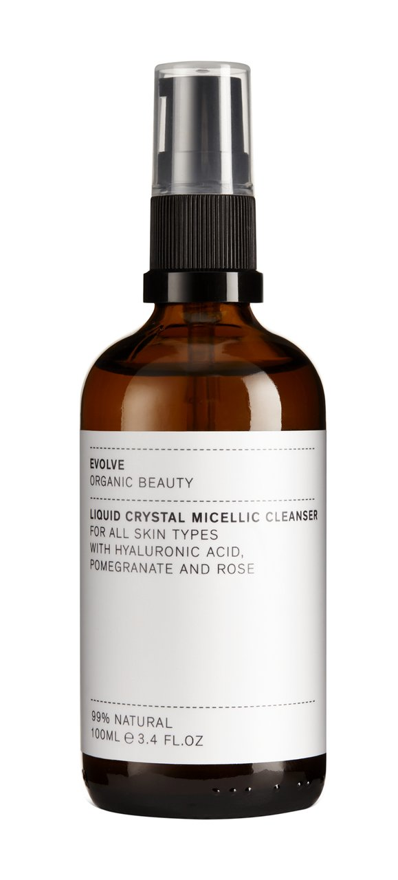 Evolve Organic Beauty Liquid Crystal Micellic Cleanser im Test Produktbild