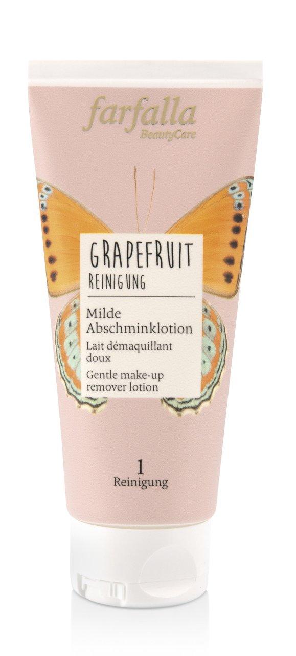 Im Test Farfalla Grapefruit Abschminklotion Produktfoto
