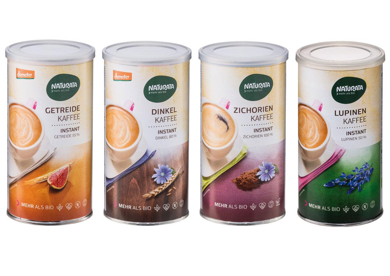 Getreidekaffee Naturata verschiedene Sorten