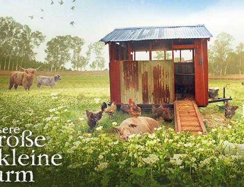 3 x 2 Kinofreikarten für Unsere große kleine Farm gewinnen!