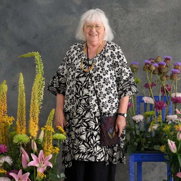 Designerin Gudrun Sjöden