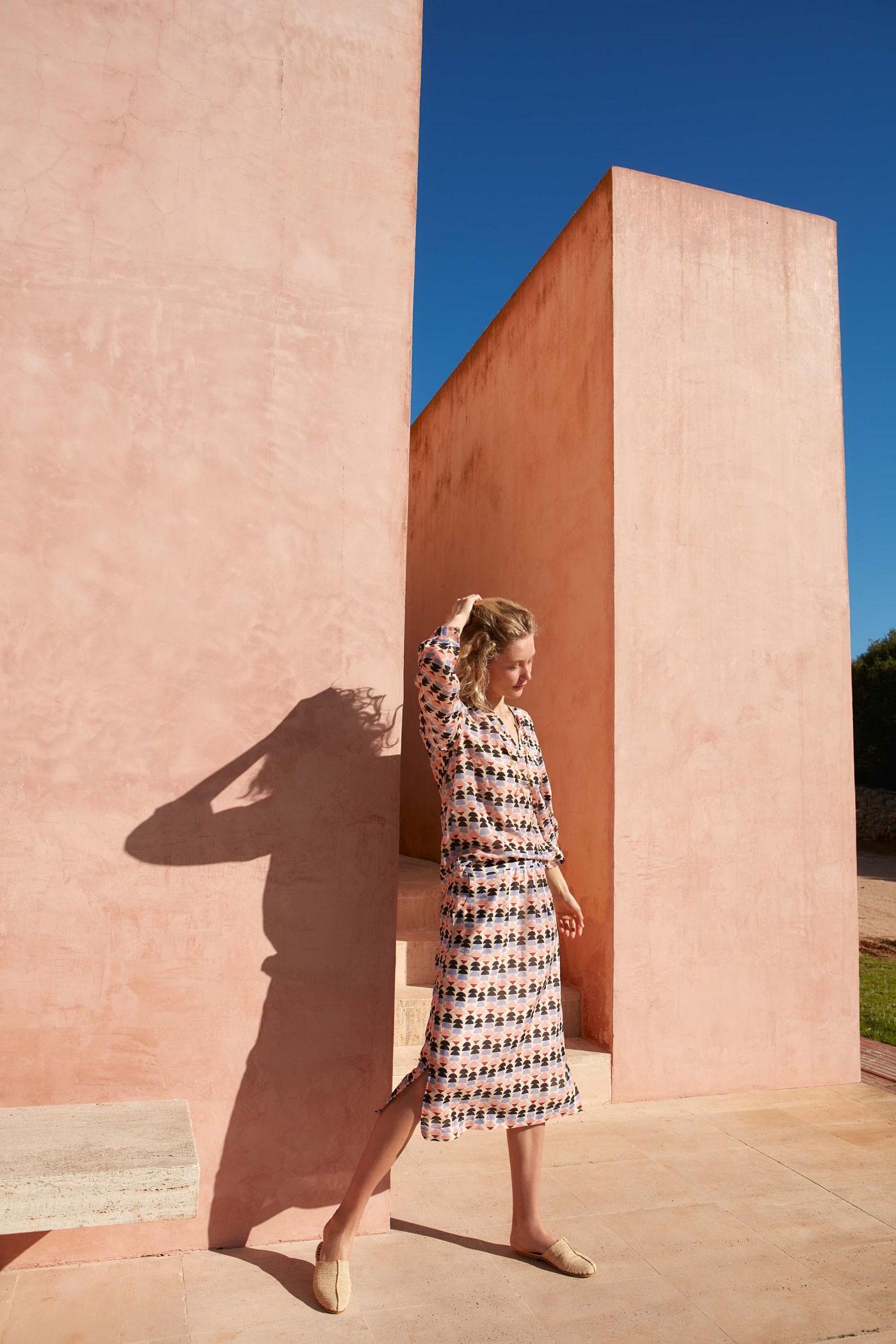 Nachhaltiges Sommerkleid von Lanius