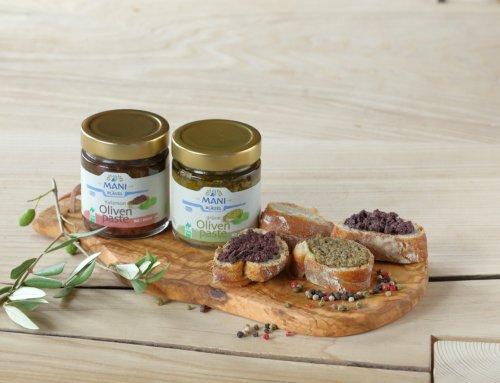 Olivenspezialitäten von Mani gewinnen!