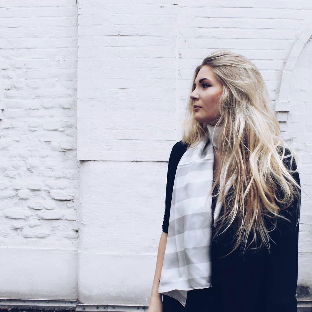 mode für die Umwelt: nachhaltiger Schal