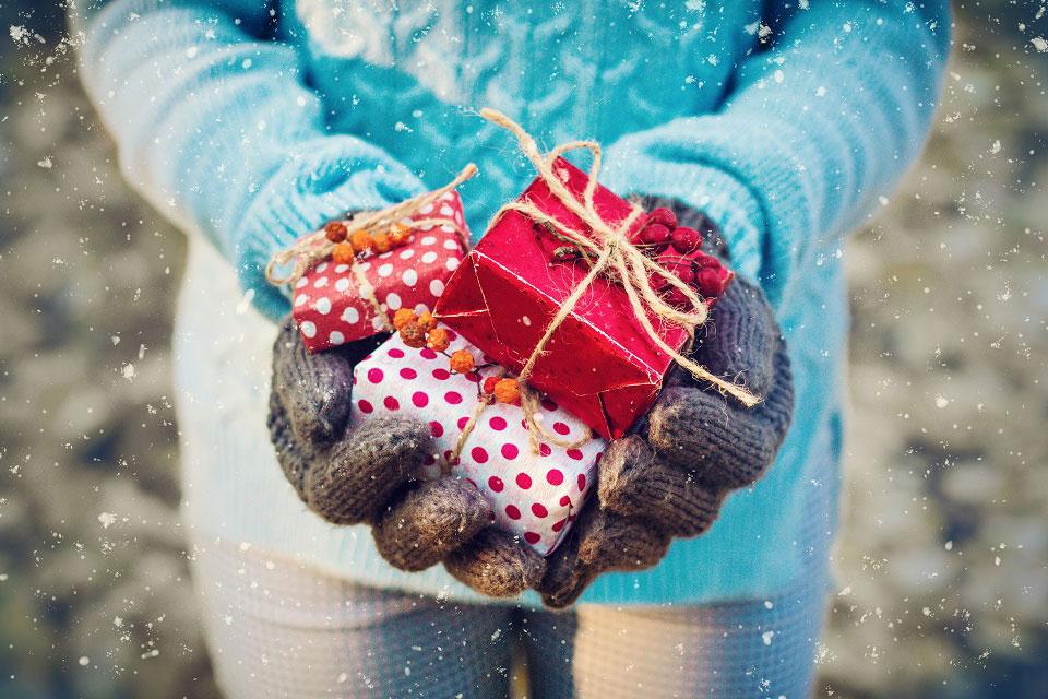 Nachhaltig schenken an Weihnachten