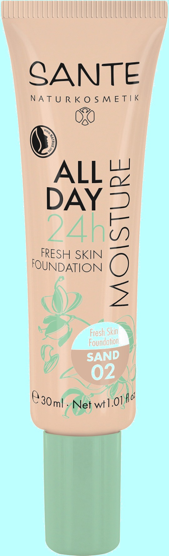 All Day 24h Fresh Skin Foundation von Santa