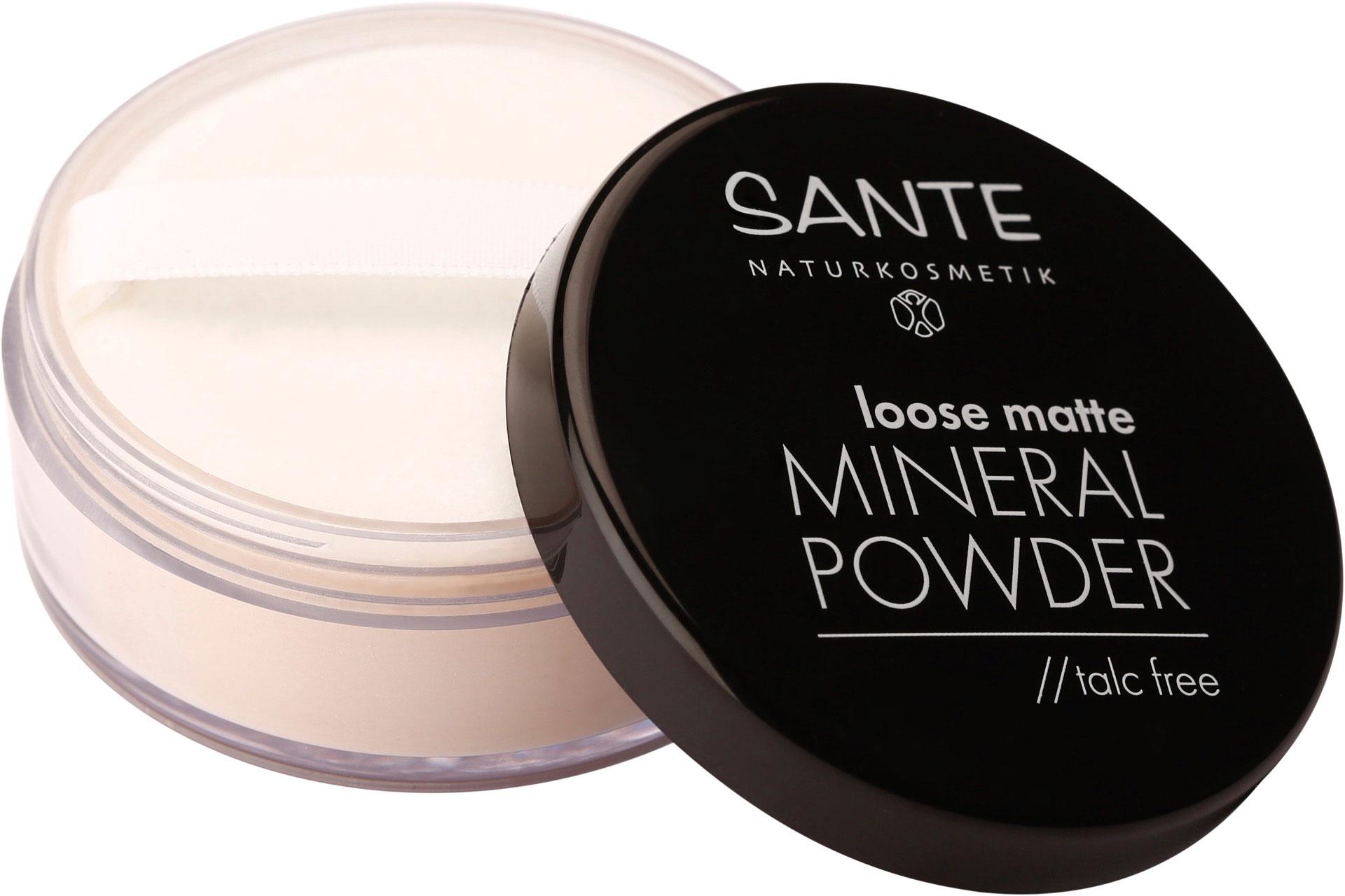 Loose Matte Mineral Powder von Sante