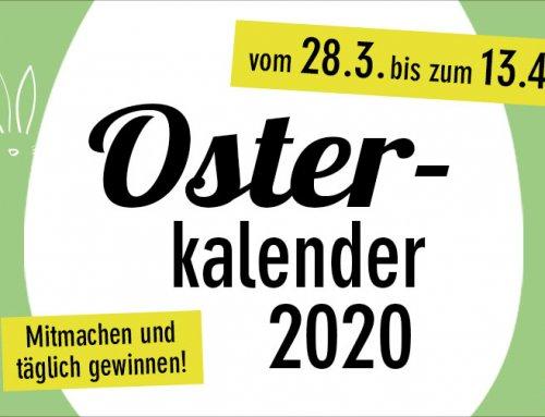 Täglich nachhaltige Osterüberraschungen im green Lifestyle Osterkalender 2020 entdecken!