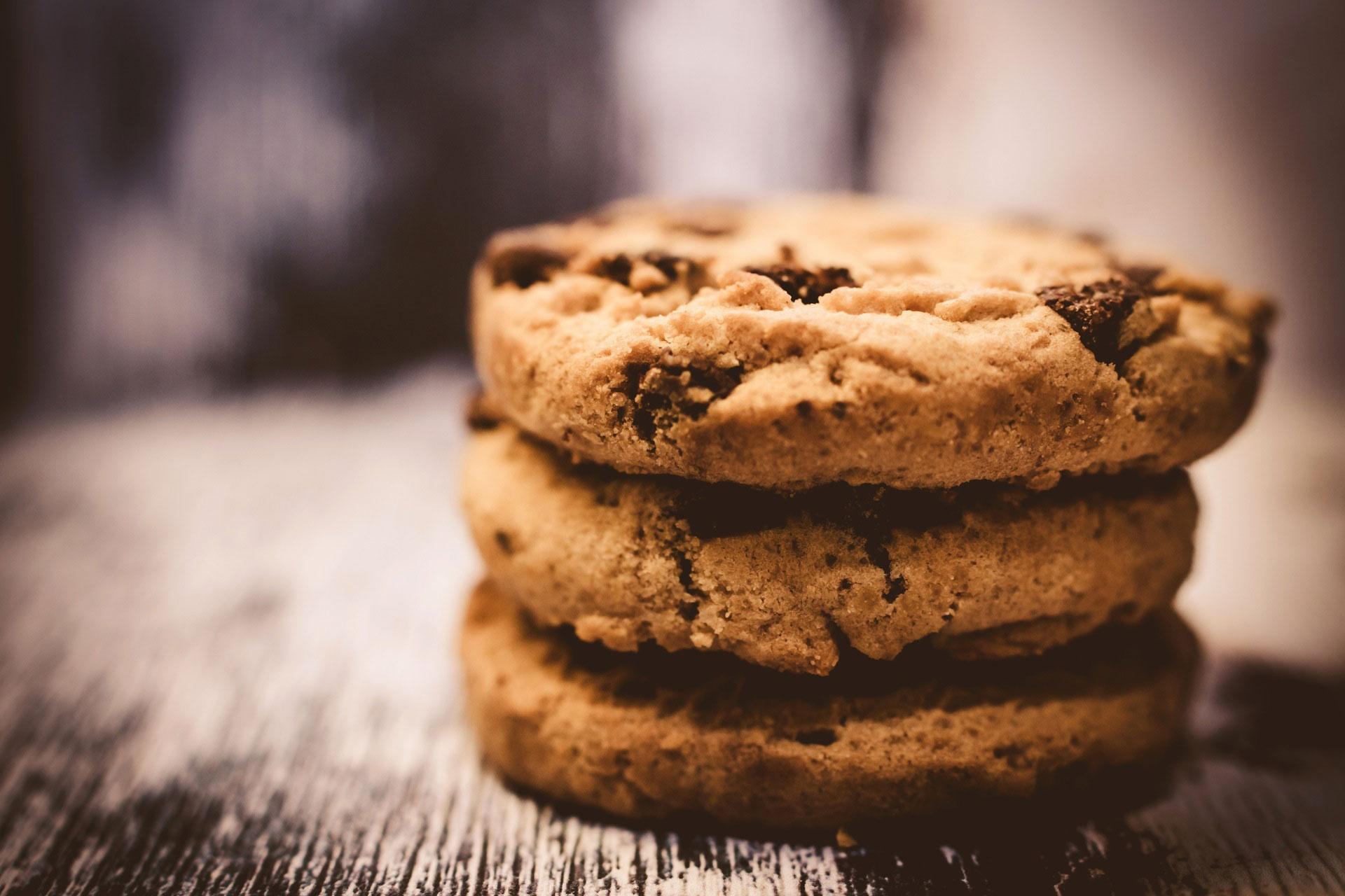 Schokocookies sind Lebensmittel, die länger haltbar sind als gedacht