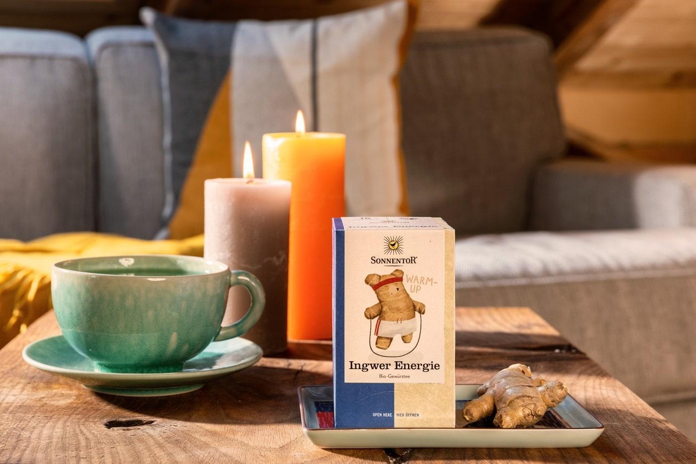 Sonnentor Tee Ingwer Energie