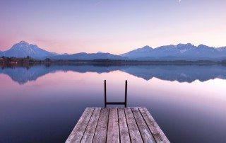 Stille am See - Morgenlicht
